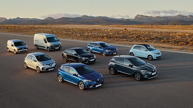 Descubra os híbridos e híbridos recarregáveis da Renault